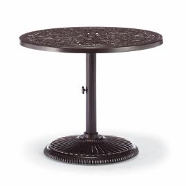 Orleans Round Bistro Table in Chocolate Finish