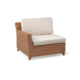 Somerset Left-facing Lounge Chair with Cushions