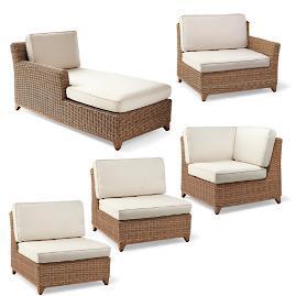 Somerset 5-pc. Modular Chair Set