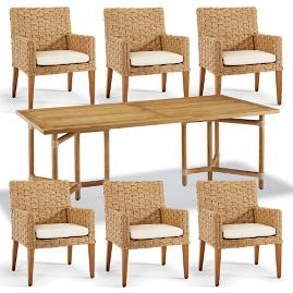 Sanibel 7-pc. Rectangular Dining Set
