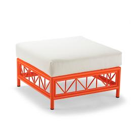 Wyeth Ottoman with Cushion by Porta Forma