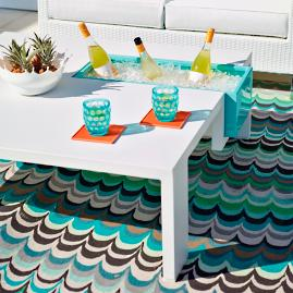Pixel Beverage Table by Porta Forma