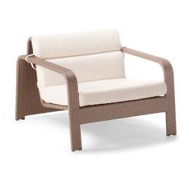 Arezzo Lounge Chair with Cushions by Porta Forma
