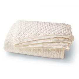 Linen Quilted Coverlet