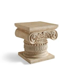 Ionic Column Side Table