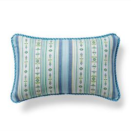 Voyager Lagoon Outdoor Lumbar Pillow