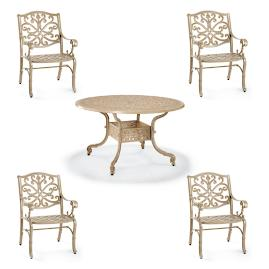 Orleans 7-pc. Oval Dining Set in Biscayne Finish