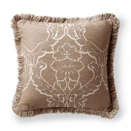 Acanthus Frame Sand Outdoor Pillow