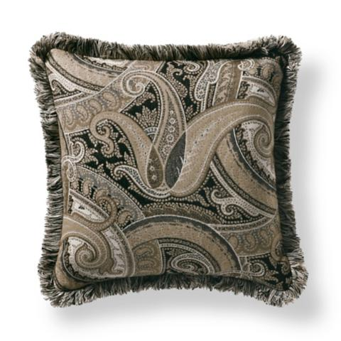 Perfect Coachella Taupe Outdoor Pillow
