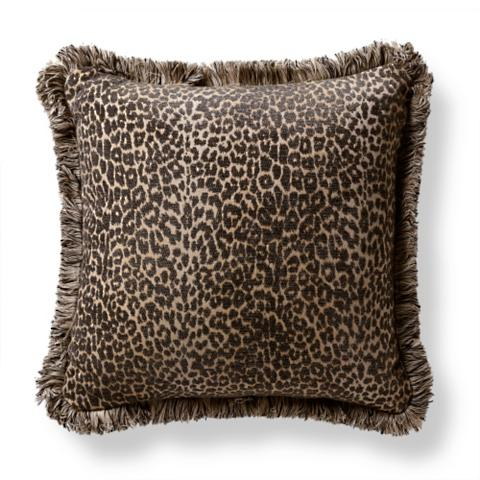 Leopard Luxe Onyx Outdoor Pillow