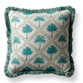 West Bay Palm Aruba Outdoor Pillow