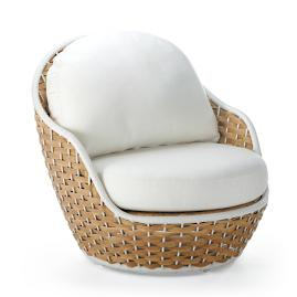 Ravello Lounge Chair with Cushions by Porta Forma