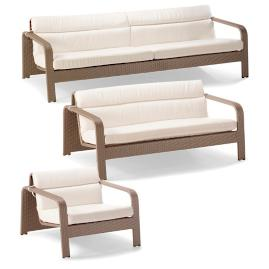Arezzo 3-pc. Sofa Set by Porta Forma
