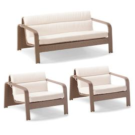 Arezzo 3-pc. Loveseat Set by Porta Forma