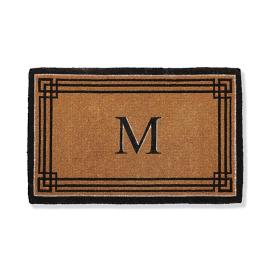 Westfield Monogrammed Entry Mat Frontgate