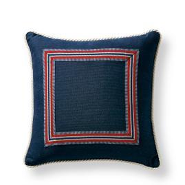 Riviera Indigo Outdoor Pillow