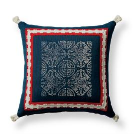 Positano Indigo Outdoor Pillow