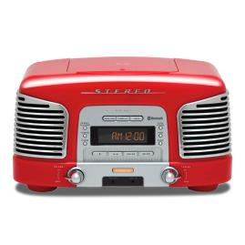 Retro/CD Bluetooth Stereo Sound System