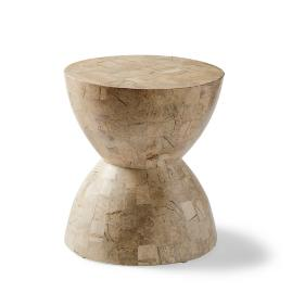 Hourglass Stone Stool by Porta Forma