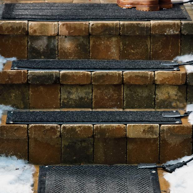 Outdoor Heated Additional Stair Mat