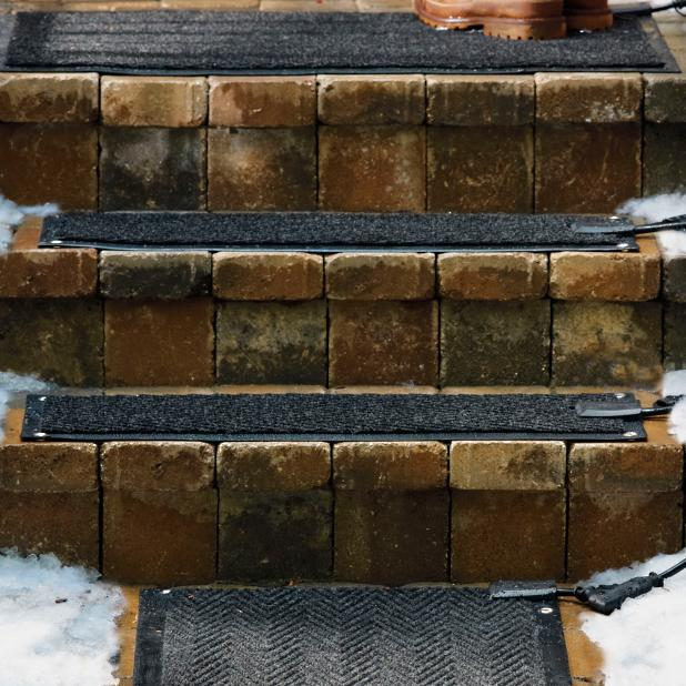 Outdoor Heated Additional Stair Mat Frontgate