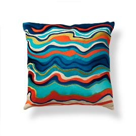 Trina Turk Waterflow Outdoor Pillow by Porta Forma