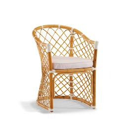 Bay Breeze Dining Arm Chair with Cushions
