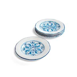 Tavira Salad Plates, Set of Four