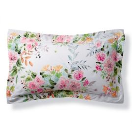 Giuliana Floral Watercolor Pillow Sham
