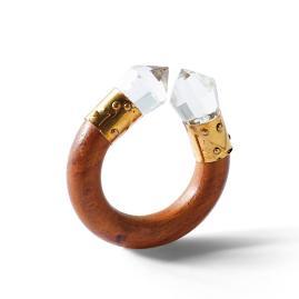 Kim Seybert Geode-Tipped Napkin Rings, Set of Four