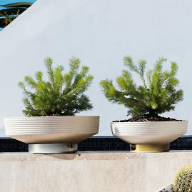 Rey Horizontal Planter by Porta Forma