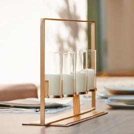 Sawyer Candelabra by Porta Forma