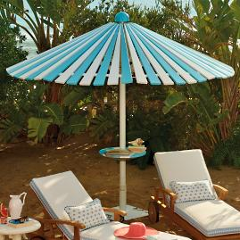 Balmoral Umbrella with Table and Base