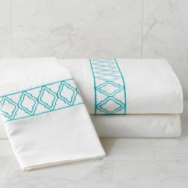 Resort Moroccan Tile Pillow Cases, Set of Two