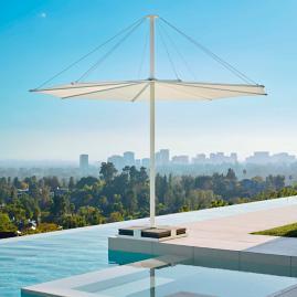 Solis Umbrella with Base by Porta Forma