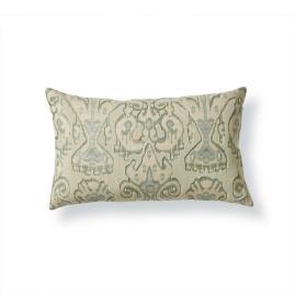 Ikat Beaded Decorative Pillow