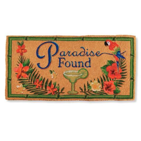Margaritaville Paradise Found Coco Mat Frontgate