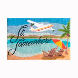 Margaritaville St. Somewhere Door Mat