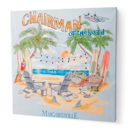 Margaritaville Board Meeting Canvas