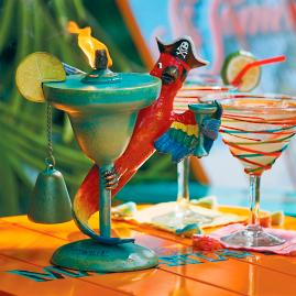 Margaritaville Parrot Pirate Table Torch