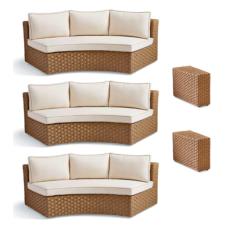 Woven Wicker Outdoor Furniture Frontgate