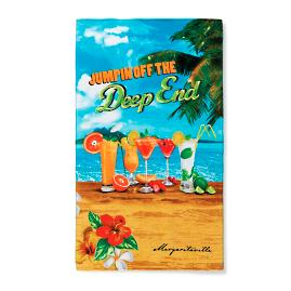 Margaritaville Jumpin' off the Deep End Pool Towel