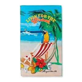 Margaritaville Livin' for the Weekend Pool Towel