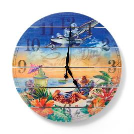 Margaritaville Seas the Day Outdoor Clock