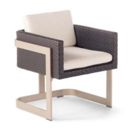 Mercer Dining Arm Chair Cushion by Porta Forma