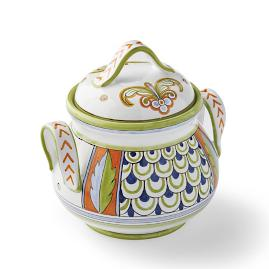 Deruta Handpainted Cookie Jar