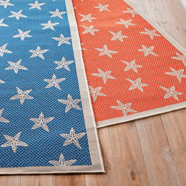 Starfish Outdoor Rug Frontgate