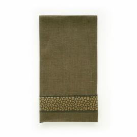 Jacquard Tape Guest Towels, Set of Two by