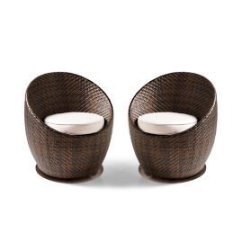 Set of Two Salima Lounge Chairs
