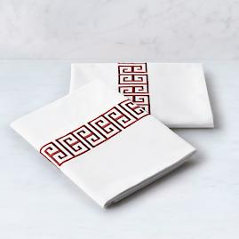 Resort Greek Key Pillowcases, Set of Two